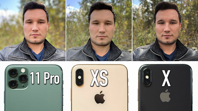 iPhone 11 Pro, iPhone Xs ve iPhone X kamera testinde karşı karşıya [Video]