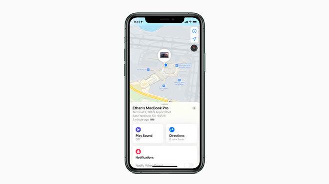 iPhone Bul uygulaması
