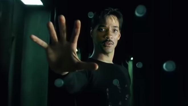 Matrix Deepfake will smith