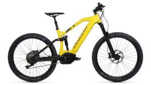 Peugeot elektrikli dağ bisikleti
