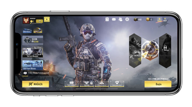 PUBG Mobile rakibi Call of Duty: Mobile
