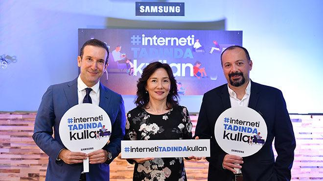 Samsung İnterneti Tadında Kullan'maya davet ediyor