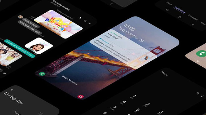 Samsung One UI 2 Android 10