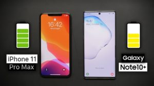 iPhone 11 Pro Max vs Galaxy Note 10 Plus