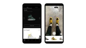 spor ayakkabı ve sneaker modellerini deneten uygulama
