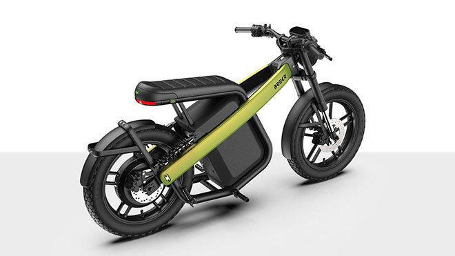 Brekr Model B e-moped elektrikli motosiklet