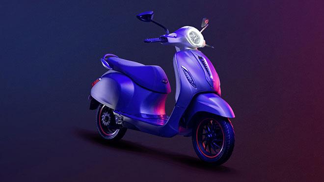 Bajaj Chetak elektrikli motosiklet