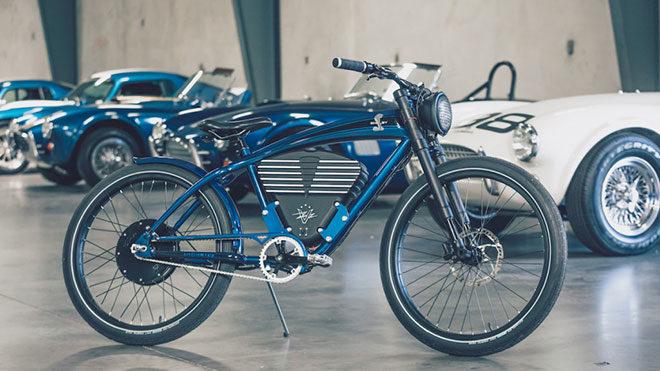 Vintage Electric elektrikli bisiklet Shelby Cobra