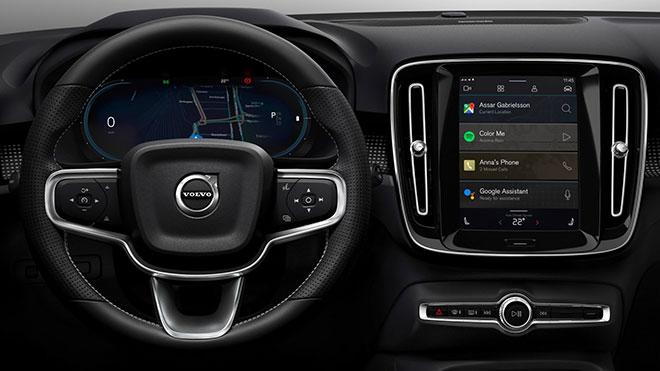 Elektrikli Volvo XC40