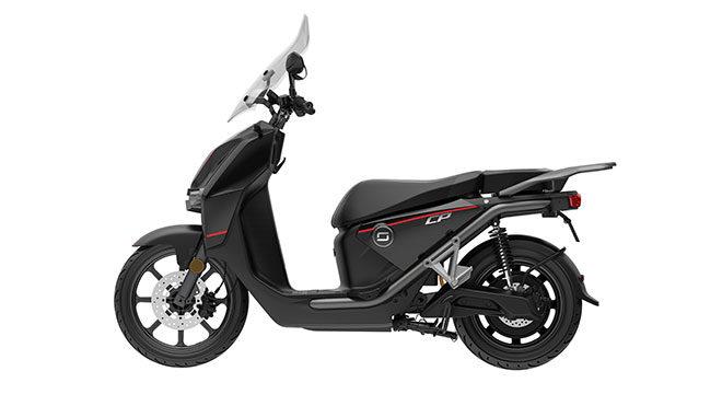 elektrikli motosiklet: Super Soco CPx