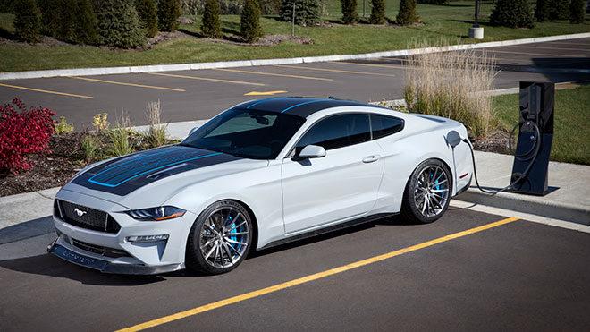 Ford Lithium Mustang elektrikli otomobil