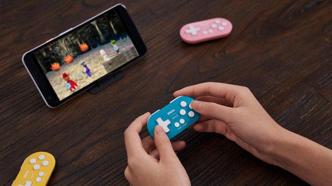 Android kullanıcılarına anahtarlık boyutunda oyun kumandası