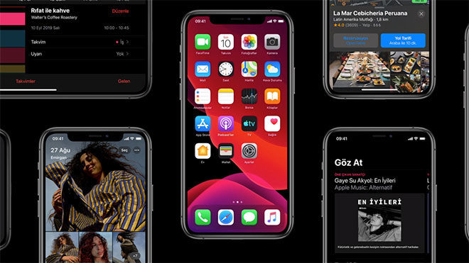 iOS 13 iOS 14 Apple