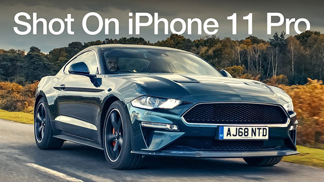 iPhone 11 Pro Ford Mustang Bullitt