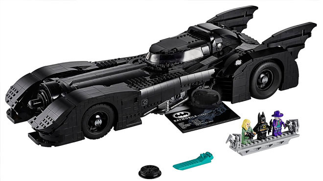 Batman tutkunları için 1989 model LEGO Batmobile [Video] - LOG