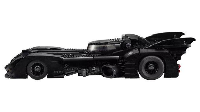 Batman tutkunları için 1989 model LEGO Batmobile