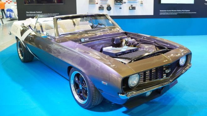1969 Chevrolet Camaro 246 Zel Bir Kitle Tamamen Elektrikli
