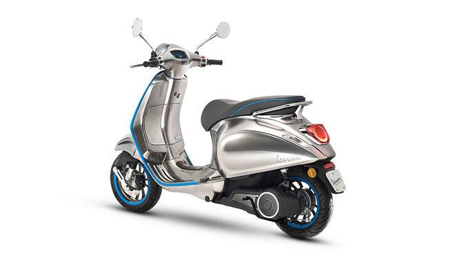 Vespa Elettrica 70 km/h elektrikli motosiklet