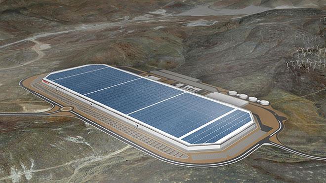 Tesla Elon Musk Gigafactory 4