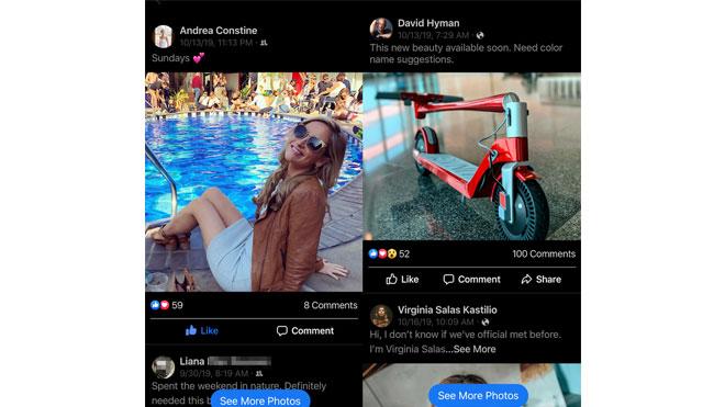 facebook küçük Instagram oluşturuyor