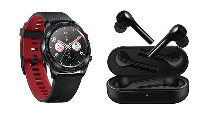 Honor Watch Magic akıllı saat Honor FlyPods Lite kablosuz kulaklık