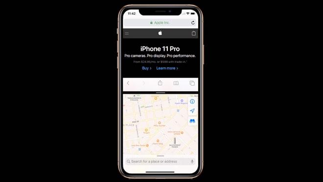 iPhone için iOS 14 konsepti