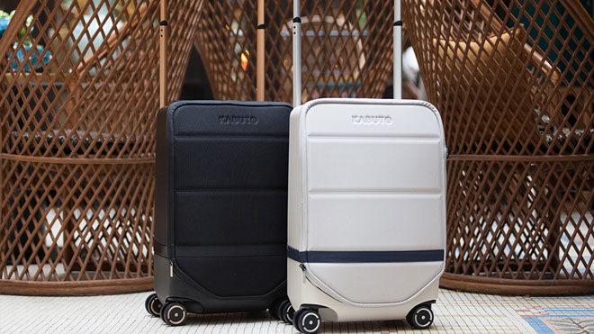 James Bond ilhamında tasarlanan akıllı bavul