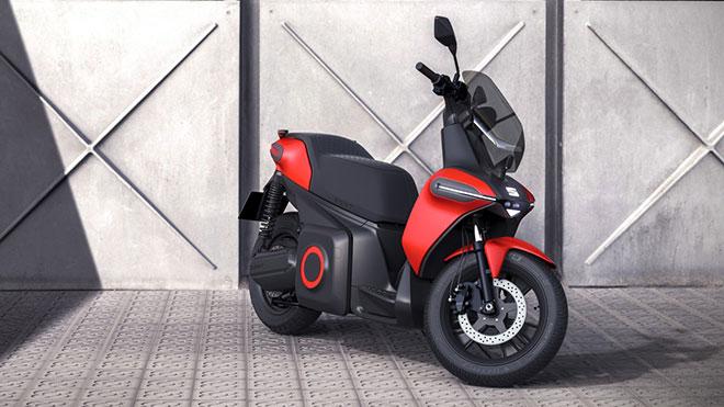 SEAT imzalı elektrikli motosiklet ve elektrikli scooter