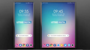 LG katlanabilir telefon