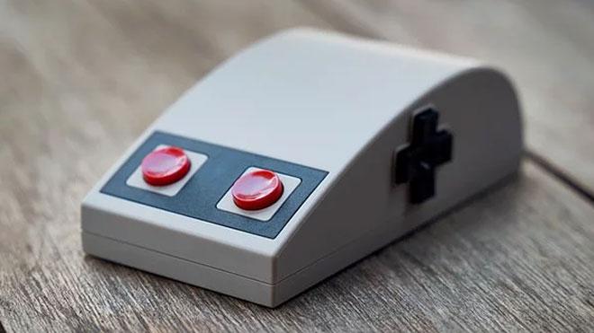 NES tasarımlı mouse