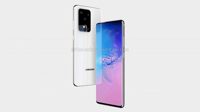 Samsung Galaxy S11 Plus 100x Space Zoom