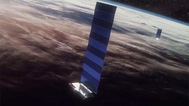 SpaceX Starlink uzaydan internet projesi