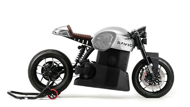 elektrikli motosiklet: Savic Motorcycles C-Series