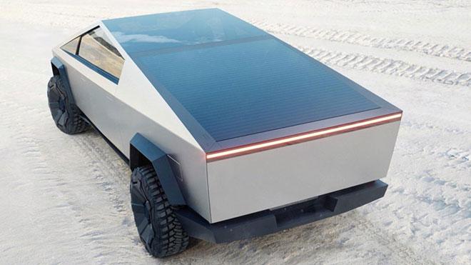 Tesla Cybertruck elektrikli pickup