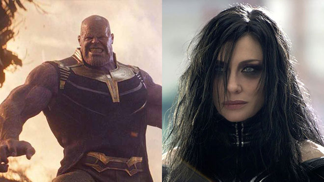 Thanos ve Hela