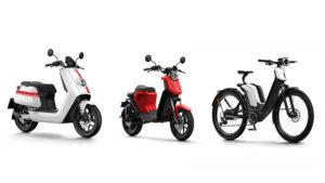 NIU elektrikli bisiklet elektrikli motosiklet