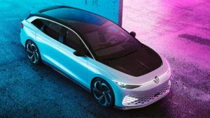 Volkswagen ID Space Vizzion elektrikli otomobil