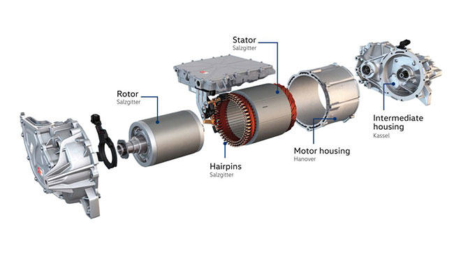 Volkswagen MEB elektrik motoru