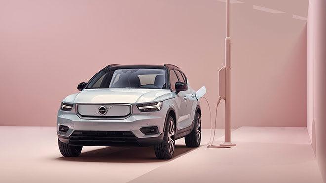 Volvo XC40 Recharge elektirkli otomobil