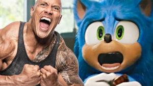 Sonic the Hedgehog Dwayne Johnson