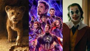 Avengers Endgame liderliğinde gişe hasılatına göre 2019'un en çok kazandıran 10 filmi