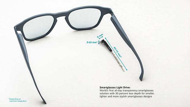 Bosch akıllı gözlük teknolojisi