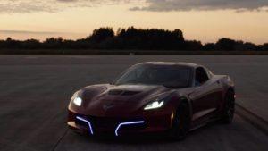 Elektrikli Corvette