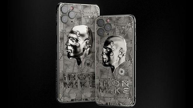 Caviar iPhone 11 Pro Mike Tyson ve Marilyn Monroe