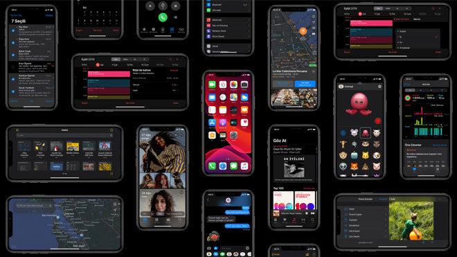 iPhone iOS 13