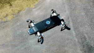 Jet motorlu drone AB5 JetQuad