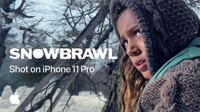 John Wick yönetmeninden iPhone 11 ile çekilmiş kar topu savaşı