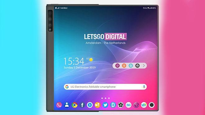 LG katlanabilir telefon Huawei Mate X