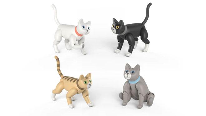 robot kedi