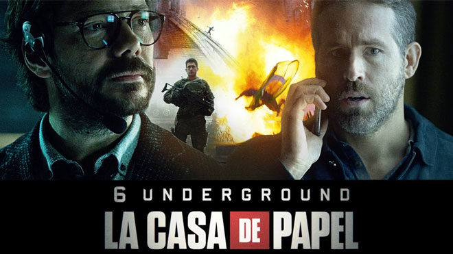 Netflix, La Casa de Papel 4. sezon ve Ryan Reynolds filmi 6 Underground u buluşturdu [İzle]